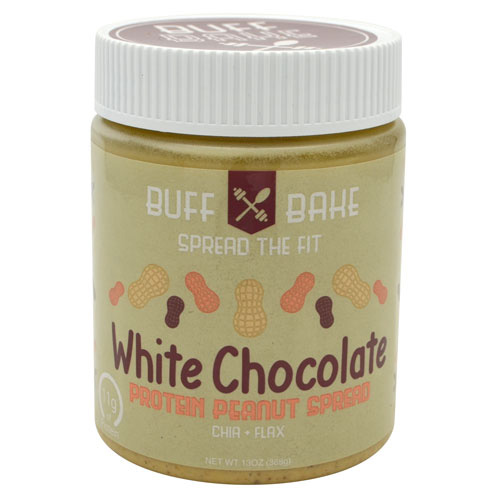 Buff Bake Protein Peanut Butter Spread - White Chocolate - 13 oz