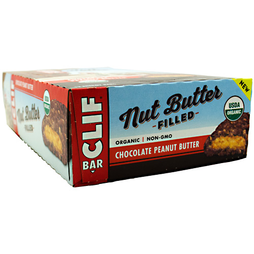 Cliff Bar Nut Butter Filled Energy Bar - Chocolate Peanut Butter - 12 ea