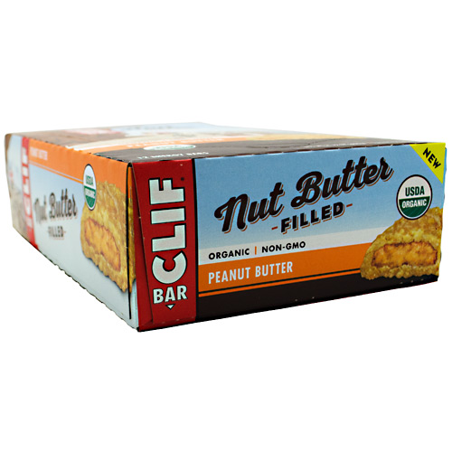Cliff Bar Nut Butter Filled Energy Bar - Peanut Butter - 12 ea