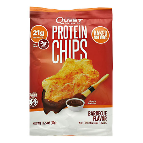 Quest Nutrition Protein Chips - Barbecue - 8 ea