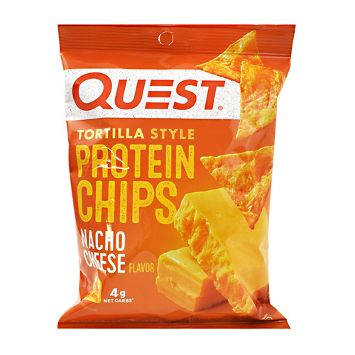 Quest Nutrition Protein Chips - Nacho Cheese - 8 ea