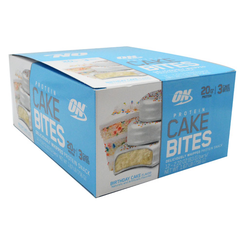 Optimum Nutrition Cake Bites - Birthday Cake - 12 ea