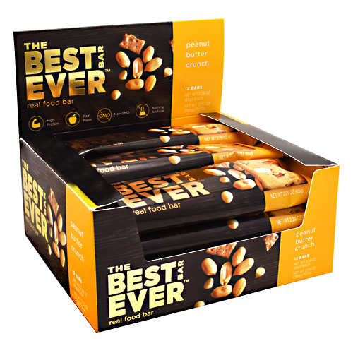 Best Bar Ever Real Food Bar - Peanut Butter Crunch - 65 g