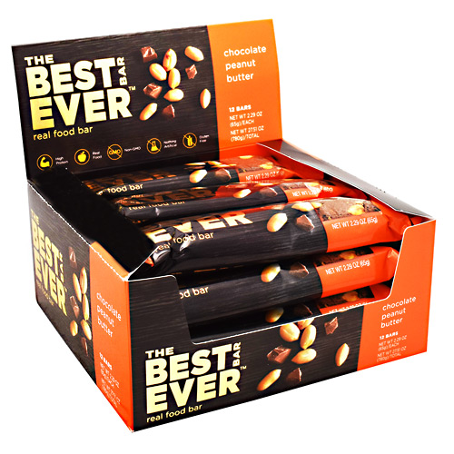 Best Bar Ever Real Food Bar - Chocolate Peanut Butter - 65 g