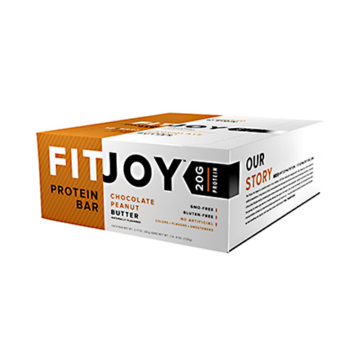 FitJoy Nutrition FitJoy Bar - Chocolate Peanut Butter - 12 ea
