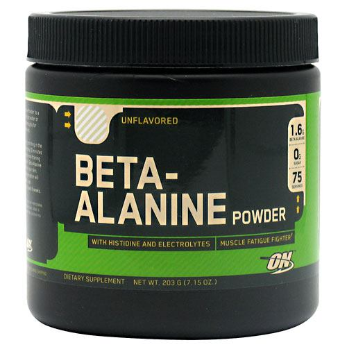 Optimum Nutrition Beta-Alanine - Unflavored - 75 ea