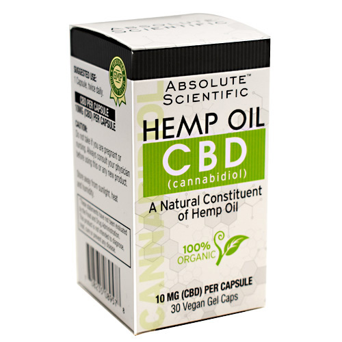 Absolute Nutrition CBD - 30 ea