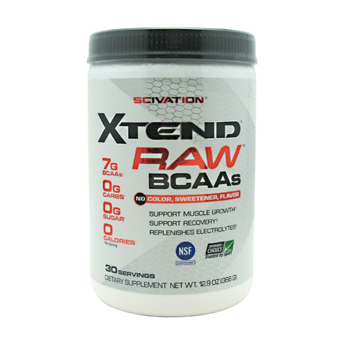 Scivation Xtend - Raw Unflavored - 30 ea