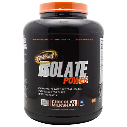 ISS Research OhYeah! Isolate Power - Chocolate Milkshake - 4 lb