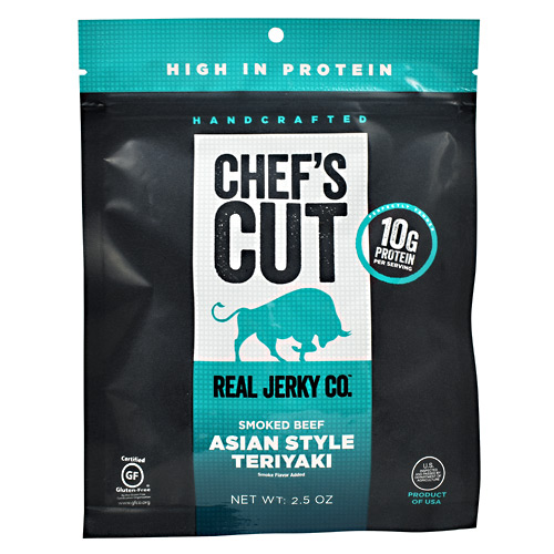 Chefs Cut Real Jerky Smoked Beef - Asian Style Teriyaki - 2.5 oz