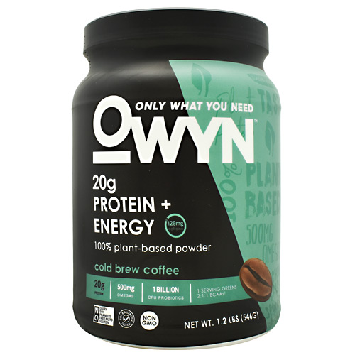 Only What You Need Energy Plant Protein - Cold Brew Coffee - 14 ea