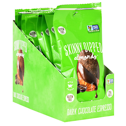 Skinny Dipped Almonds - Dark Chocolate Espresso - 1.5 oz