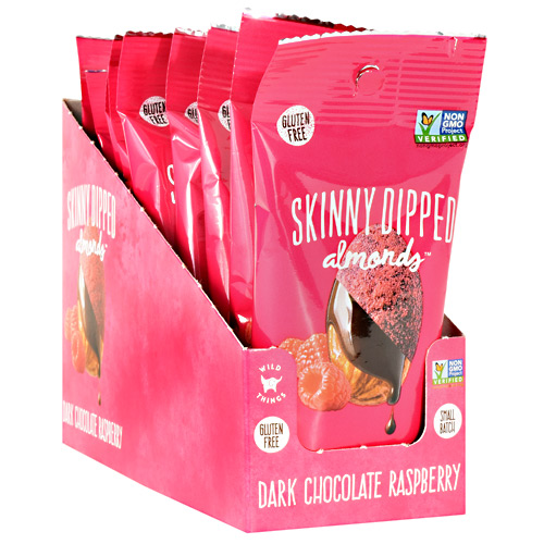 Skinny Dipped Almonds - Dark Chocolate Raspberry - 1.5 oz