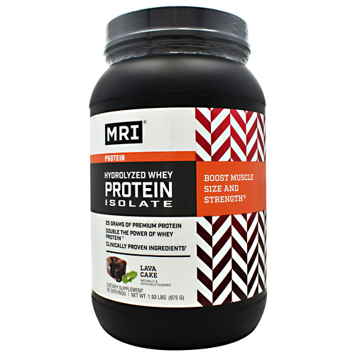 MRI Hydrolyzed Whey Protein Isolate - Lava Cake - 25 ea