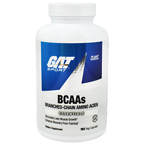 GAT Essentials BCAAs - 180 ea