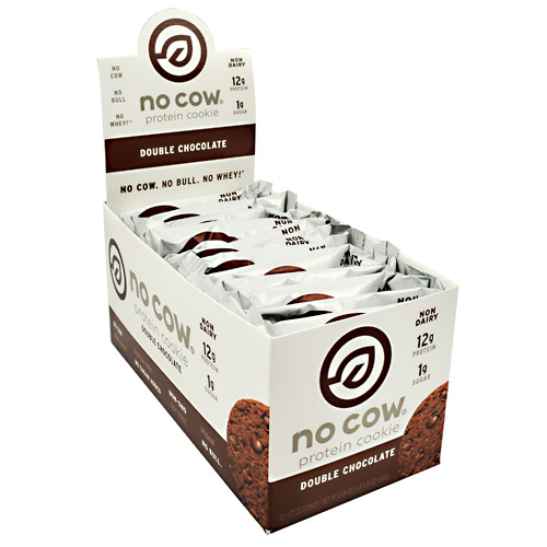 Ds Naturals No Cow Protein Cookie - Double Chocolate - 12 ea