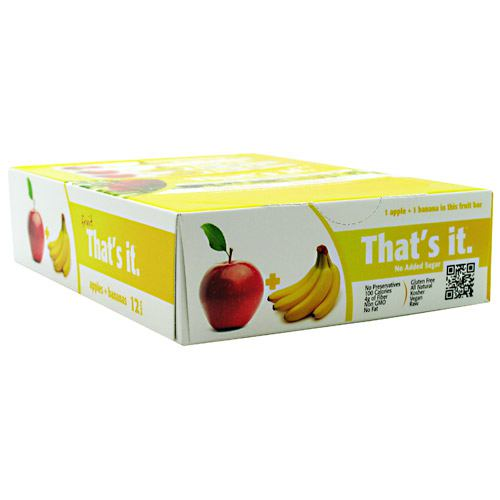 Thats It Nutrition Thats it Bar - Apple + Banana - 12 ea