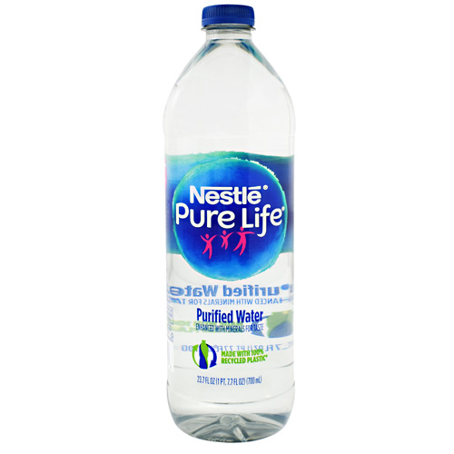 Nestle Waters Nestle Pure Life Water - 24 ea