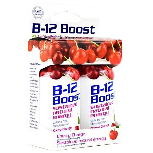 High Performance Fitness B12 Boost - Cherry Charge - 2 ea