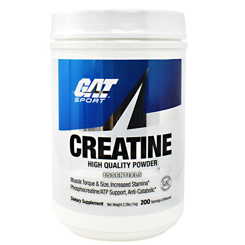 GAT Creatine - Unflavored - 200 ea