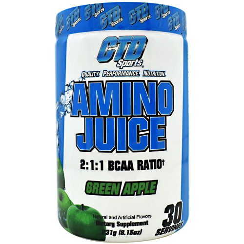 CTD Labs Amino Juice - Green Apple - 30 ea