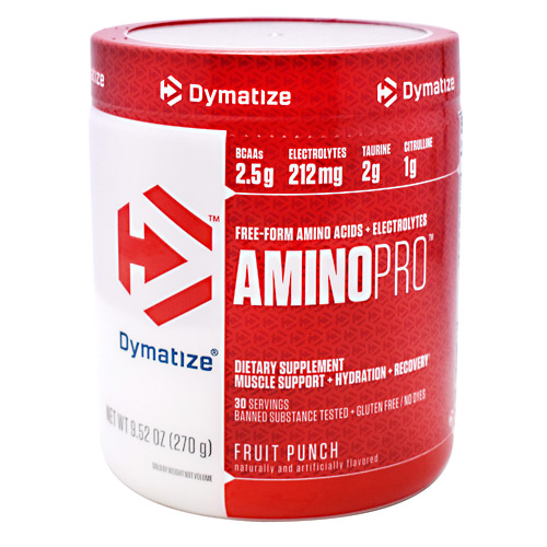 Dymatize AminoPro - Fruit Punch - 30 ea
