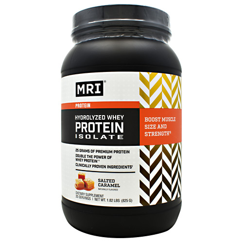 MRI Hydrolyzed Whey Protein Isolate - Salted Caramel - 25 ea