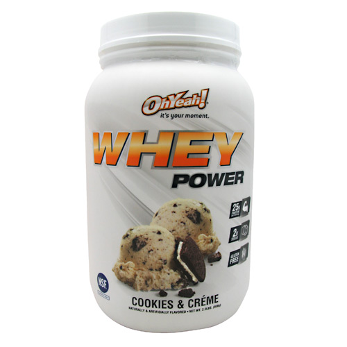 ISS Research Oh Yeah! Whey Power - Cookies & Creme - 2 lb