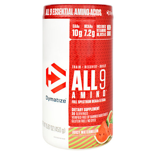 Dymatize All 9 Amino - Juicy Watermelon - 30 ea