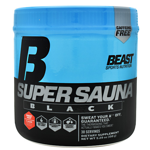 Beast Sports Nutrition Black Super Sauna - Sweet Heat - 30 ea