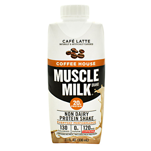 Cytosport Coffee House Muscle Milk RTD - Cafe Latte - 12 ea