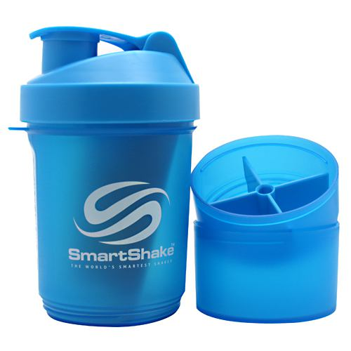 Smart Shake Shaker Cup - Neon Blue - 20 oz