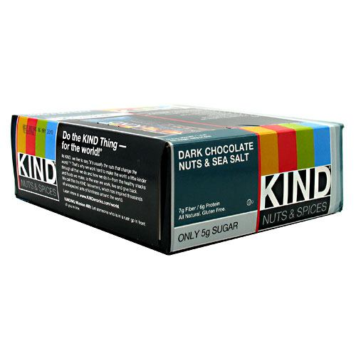 Kind Snacks Kind Bar - Dark Chocolate Nuts & Sea Salt - 12 ea
