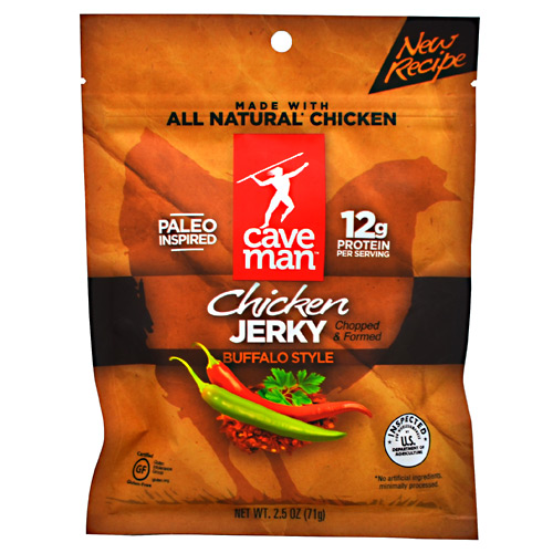 Caveman Foods Chicken Jerky - Buffalo Style - 2.5 oz
