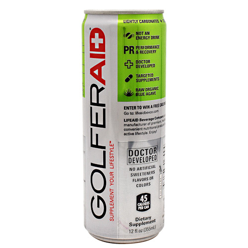 Lifeaid Beverage Company GolferAid - 12 ea