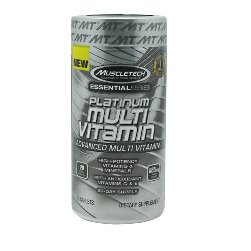 Muscletech Essential Series Platinum Multi Vitamin - 90 ea