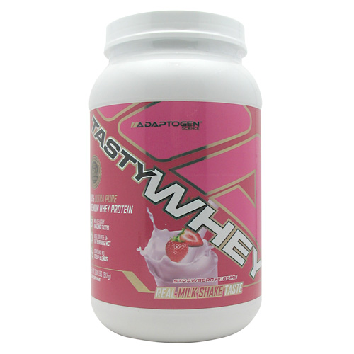 Adaptogen Science Tasty Whey - Strawberry Creme - 2 lb