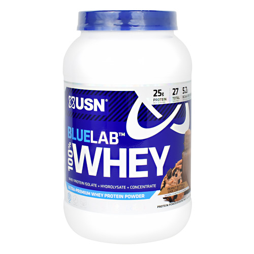Usn Blue Lab 100% Whey - Peanut Butter & Choc Chip Cookie - 2 lb