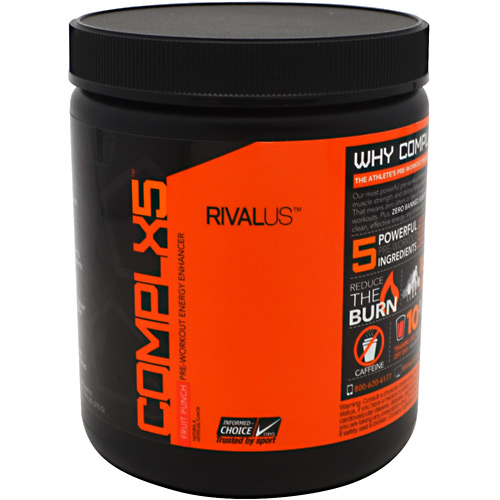Rivalus Rivalus Complx5 - Fruit Punch - 0.594 lbs