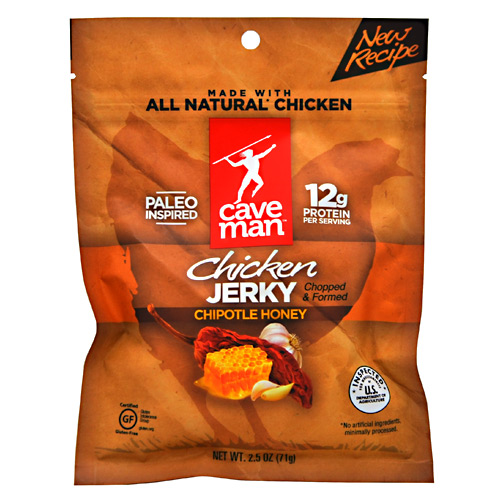 Caveman Foods Chicken Jerky - Chipotle Honey - 2.5 oz