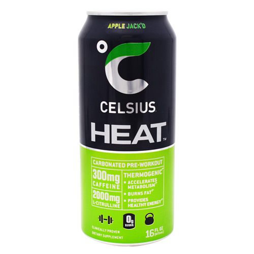 Celsius Celsius Heat - Apple Jack'd - 12 ea