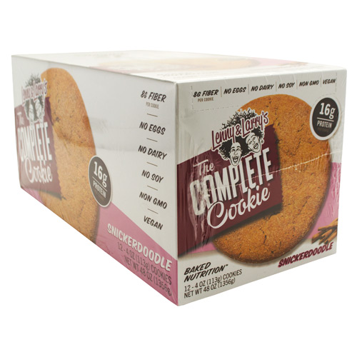Lenny & Larrys All-Natural Complete Cookie - Snickerdoodle - 12 ea