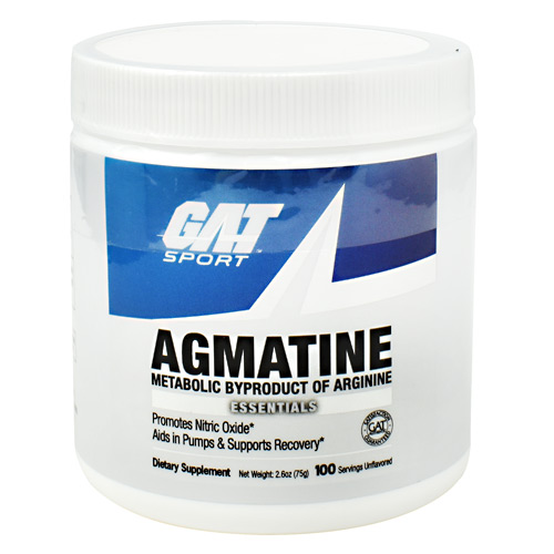 GAT Agmatine - Unflavored - 100 ea