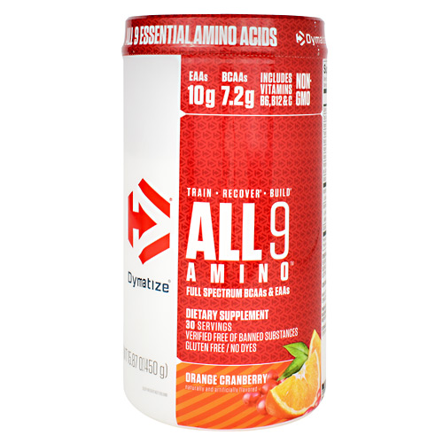 Dymatize All 9 Amino - Orange Cranberry - 30 ea