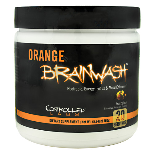 Controlled Labs Orange Brainwash - Fruit Splash - 20 ea