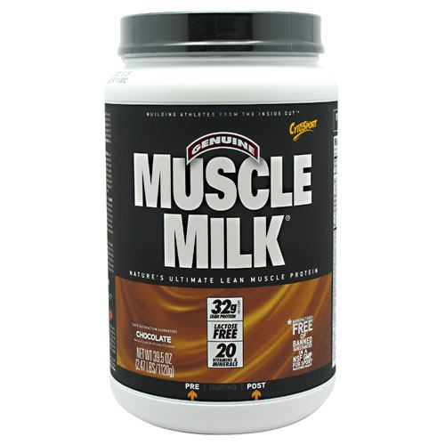 Cytosport Genuine Muscle Milk - Chocolate - 2.47 lb