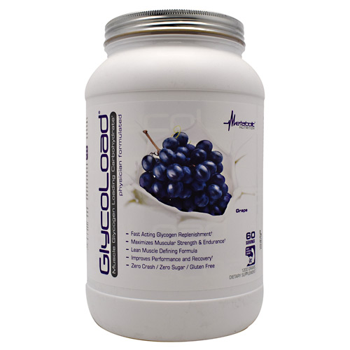 Metabolic Nutrition GlycoLoad - Grape - 1200 g