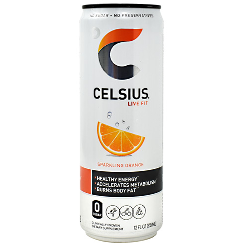 Celsius Celsius - Sparkling Orange - 12 ea