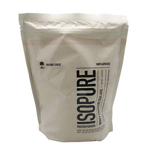 Natures Best Isopure - Unflavored - 1 lb