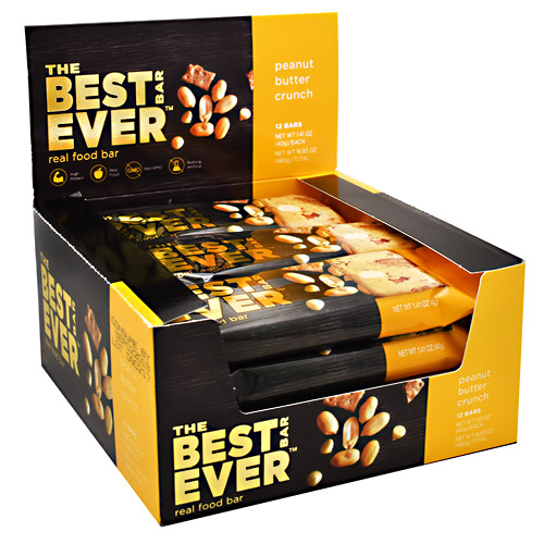 Best Bar Ever Real Food Bar - Peanut Butter Crunch - 40 g
